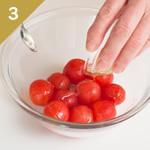 トマトの冷たいデザート